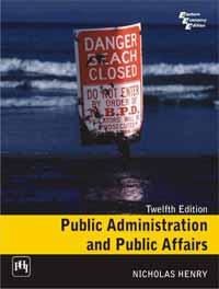PUBLIC ADMINISTRATION & PUBLIC AFFAIRS