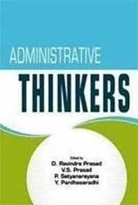 Administrative Thinkers Prasad