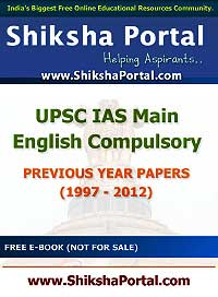 English Compulsory Paper for IAS Mains