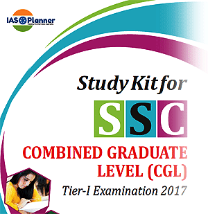 SSC CGL Study Kit - 2017